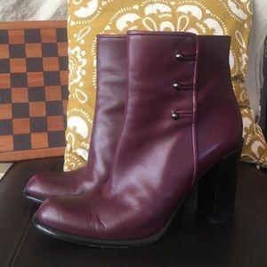 Italian Made Heeled Boots